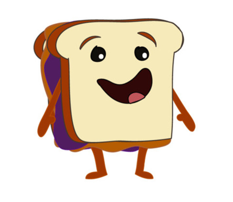 480x416 A Peanut Butter And Jelly Sandwich Gifs