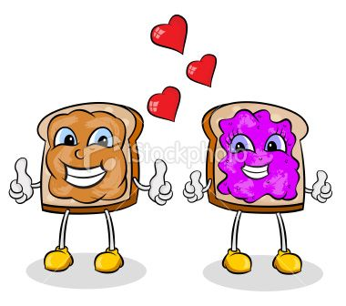 380x336 Peanut Butter And Jelly Clip Art