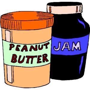 300x300 Peanut Butter Jelly Clip Art Free, Free Peanut Butter
