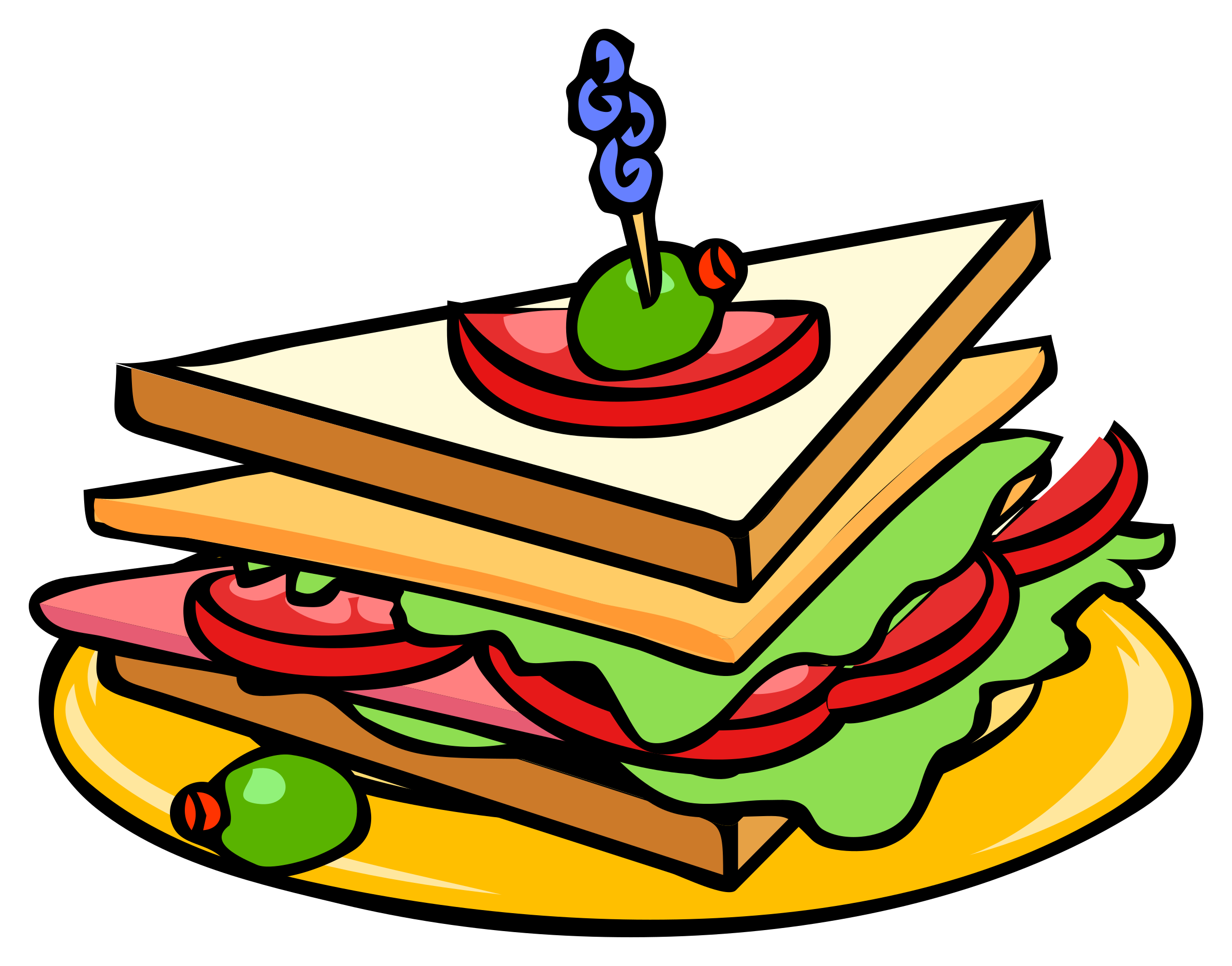 Peanut Butter Sandwich Clipart