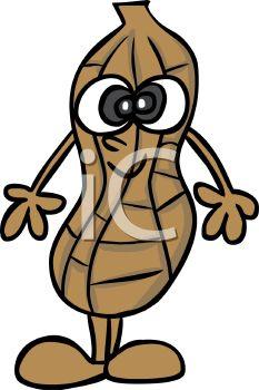 233x350 Peanut Character Clip Art