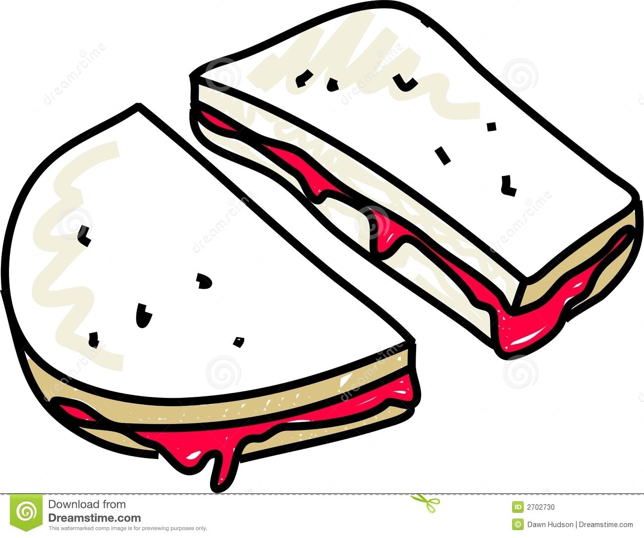 1300x1086 Sandwich Clipart Strawberry Jam