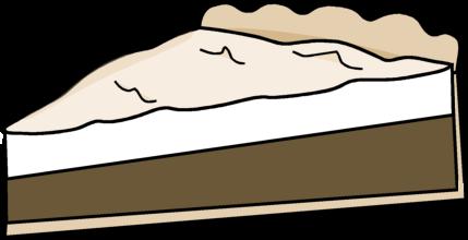 429x220 Chocolate Meringue Pie Clip Art