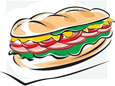 400x300 Clipart Sandwich
