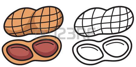 450x221 Nut Clipart Peanut