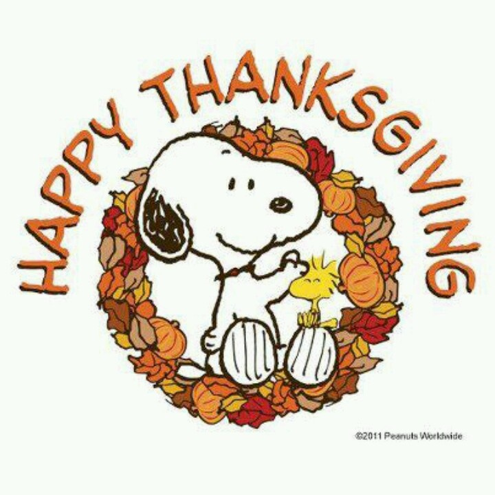 720x720 Snoopy Thanksgiving. Things I Love Snoopy