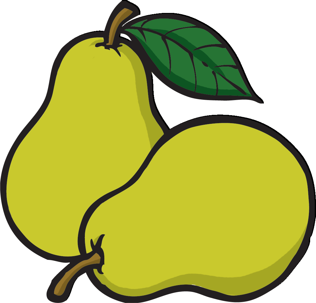 Pear Clipart | Free download best Pear Clipart on ...