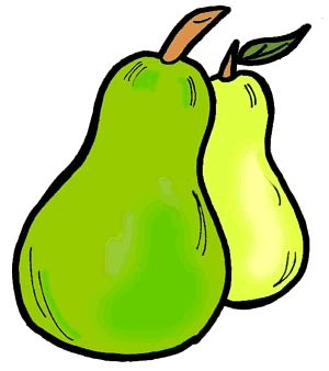 Pear Cliparts