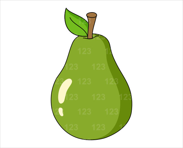 600x486 Fruit Clipart Pear Fruit