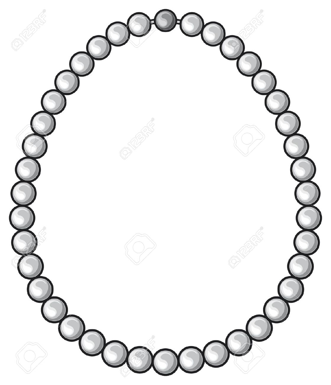 1119x1300 Jewelry Clipart Pearl Necklace