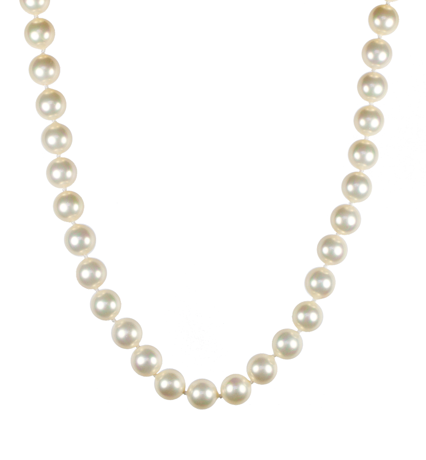 860x928 Pearl Necklace Clipart
