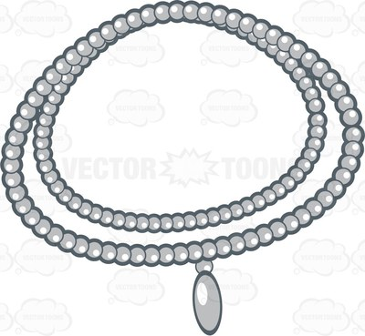 400x369 Pearls Clipart