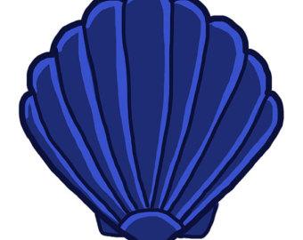 340x270 Pearl Clipart Blue Shell
