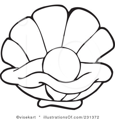 400x420 Shell Clipart Oyster