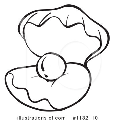 400x420 Clams Clipart Pearl Drawing