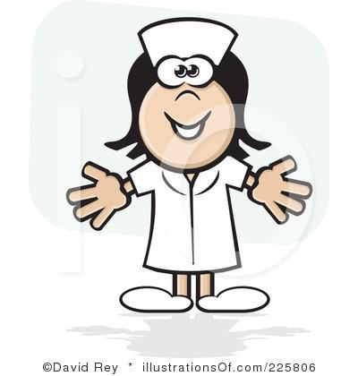 400x420 Funny Nurse Clipart