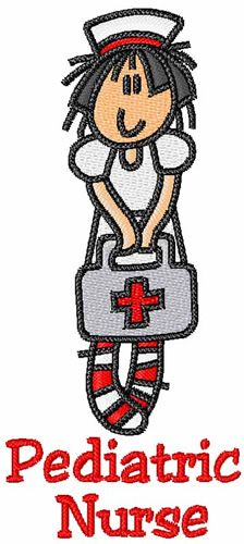 224x500 Pediatric Nurse Clipart