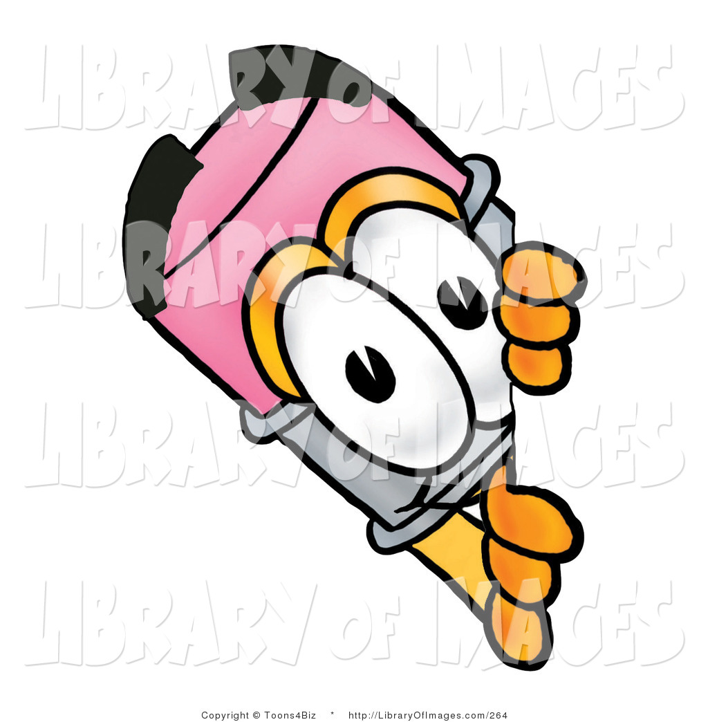 1024x1044 Clip Art Of A Happy Pencil Mascot Cartoon Character Peeking Around