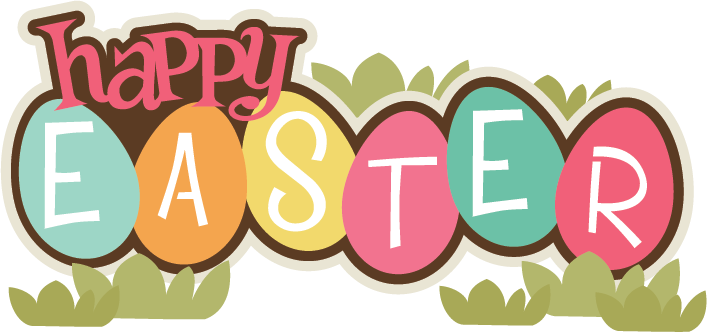707x332 Happy Easter Transparent Clipart 2