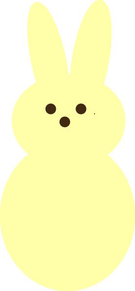 276x593 Yellow Peep Clipart