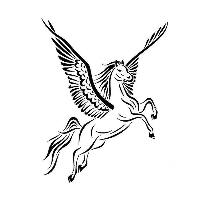736x736 12 Best Pegasus Tattoos Images Drawings, Horses