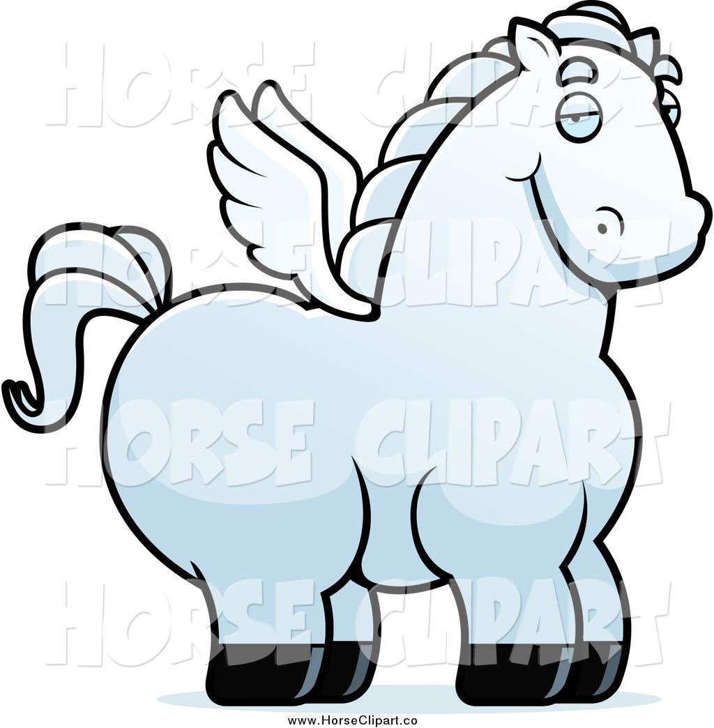1024x1044 Clip Art Of A Chubby White Pegasus By Cory Thoman