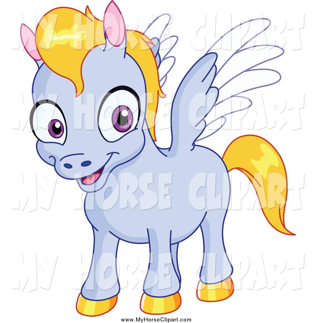 1024x1044 Clip Art Of A Cute Baby Pegasus Horse By Yayayoyo