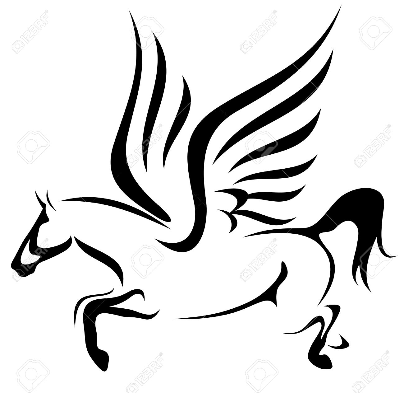 1300x1263 Mythology Clipart Pegasus