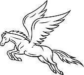 170x151 Pegasus Clipart