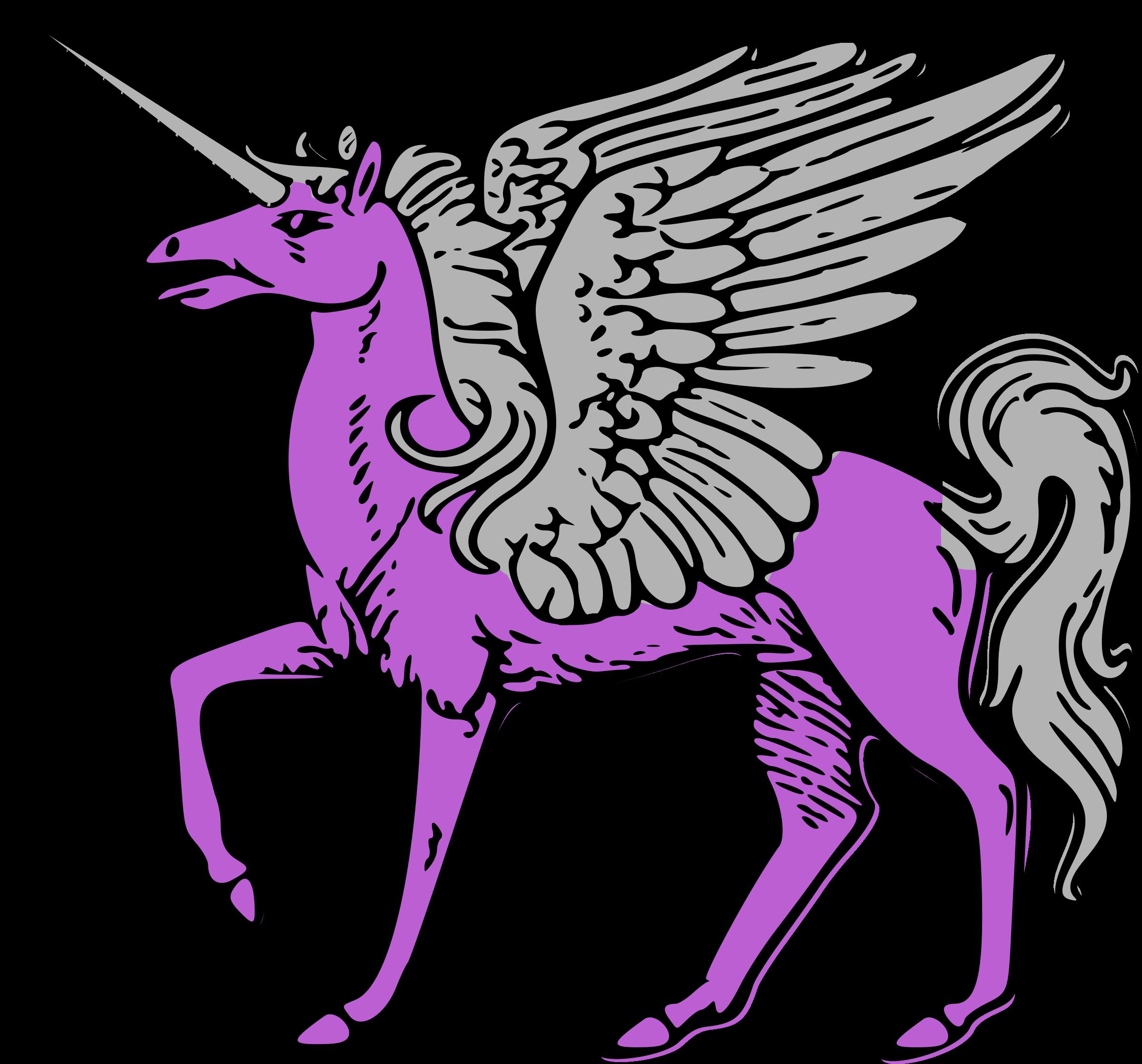 2400x2236 Unicorn Clipart Pegasus