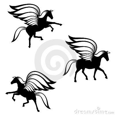 400x400 Pegasus Clip Art
