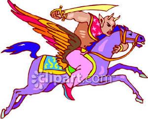 300x242 Creature Riding A Pegasus