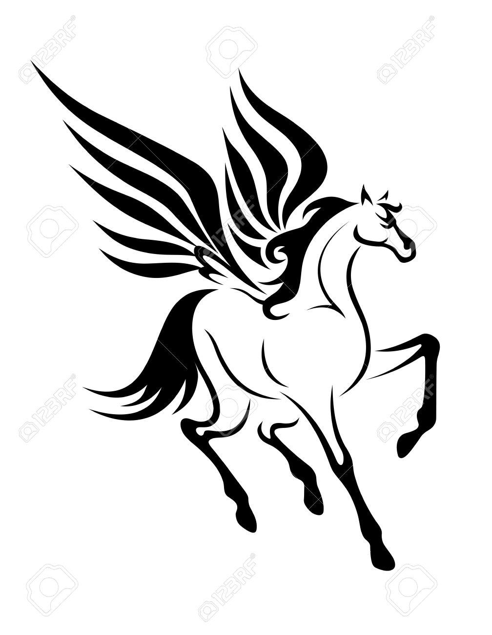 1008x1300 Famous Pegasus Tattoo Designs