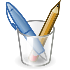 240x240 Pen Pencil Clip Art Download