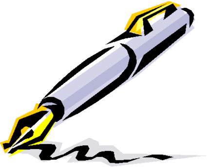 427x346 Pen Clipart