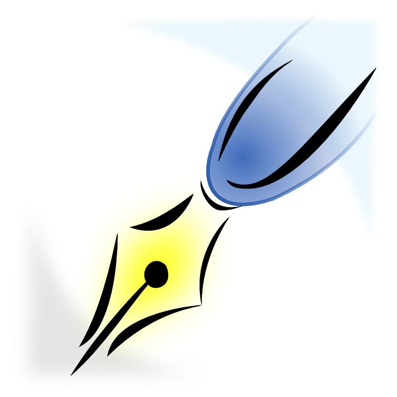 800x800 Pen Clip Art Images Free Clipart Clipartix