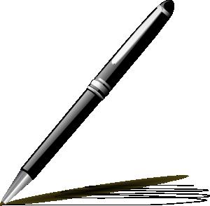 300x293 Stylish Pen Clip Art