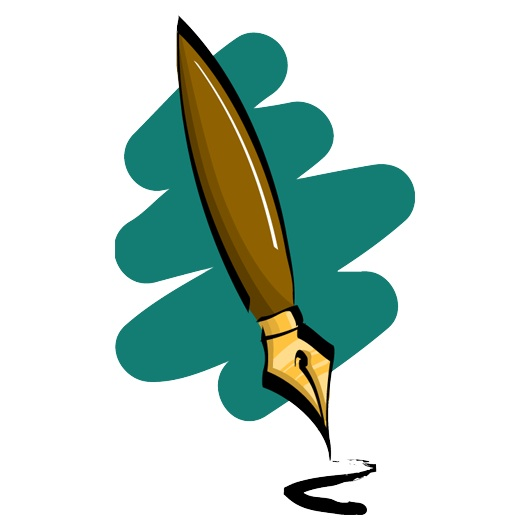 530x530 Feather clipart fountain pen