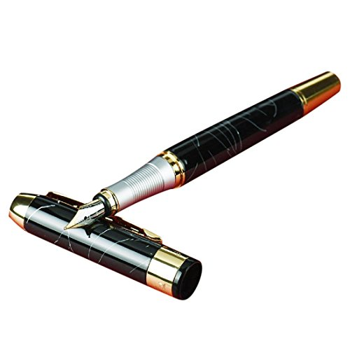 500x500 Jinhao 250 Calligraphy Faountain Pen Black And Golden Clip Art Pen