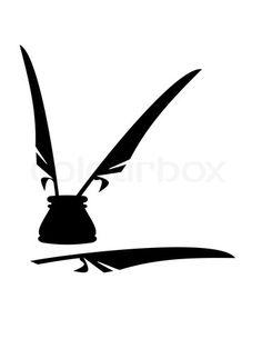 236x305 Pen Silhouette Clip Art Pack Art Inspiration Clip Art