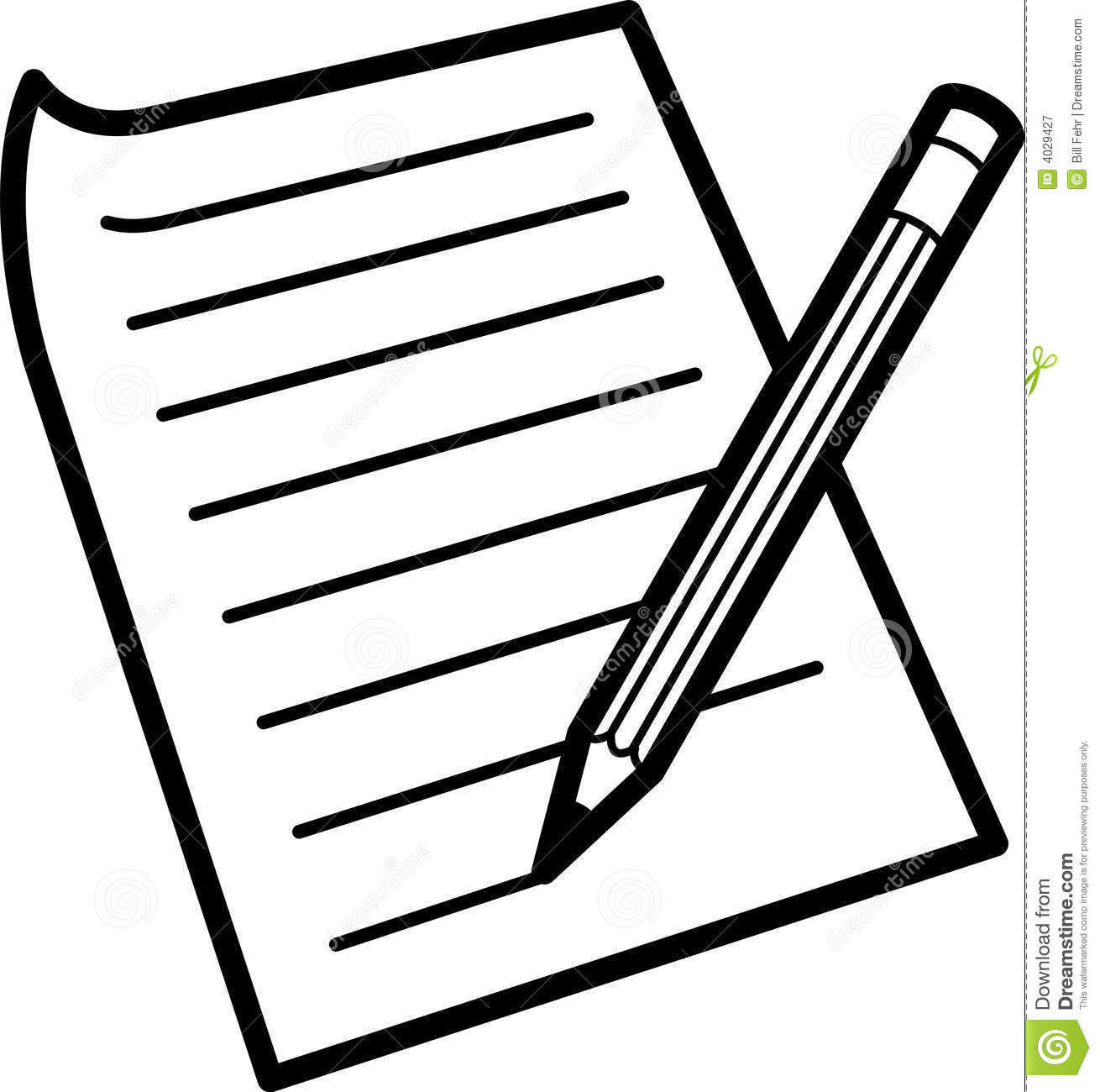 1310x1300 Writing paper clipart