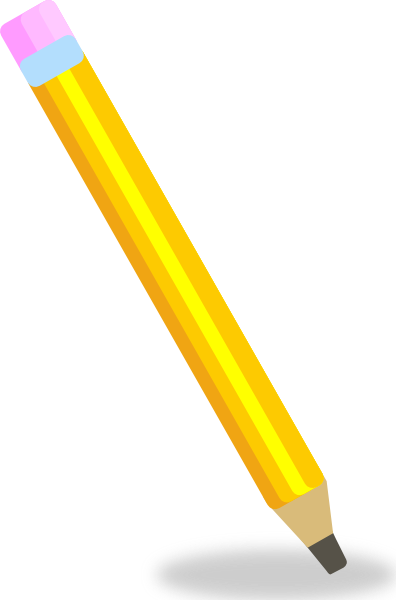 396x600 Pencil Clip Art