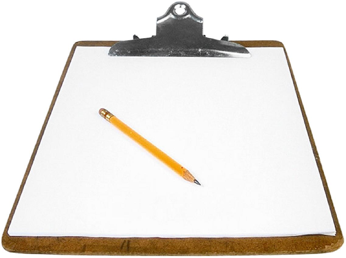 1137x849 Pencil And Paper Clip Art