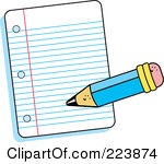 150x150 Paper Clipart Writing Paper