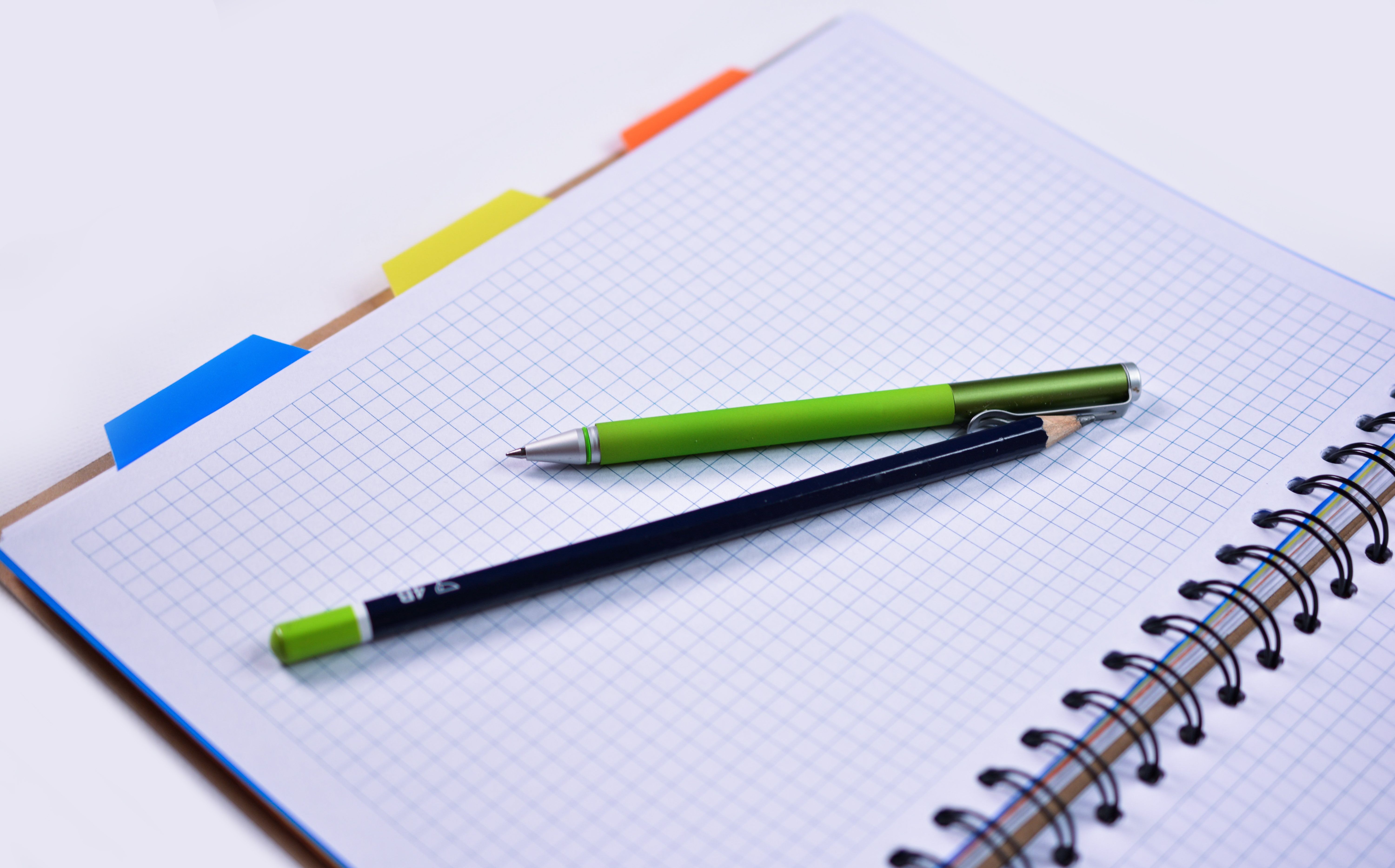 6000x3734 Black Wooden Pencil On Graphing Paper Free Stock Photo