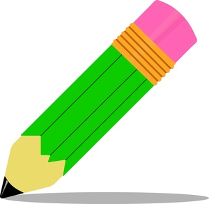 300x293 Pencil Writing On Paper Clipart Clipart Free Clipart Images