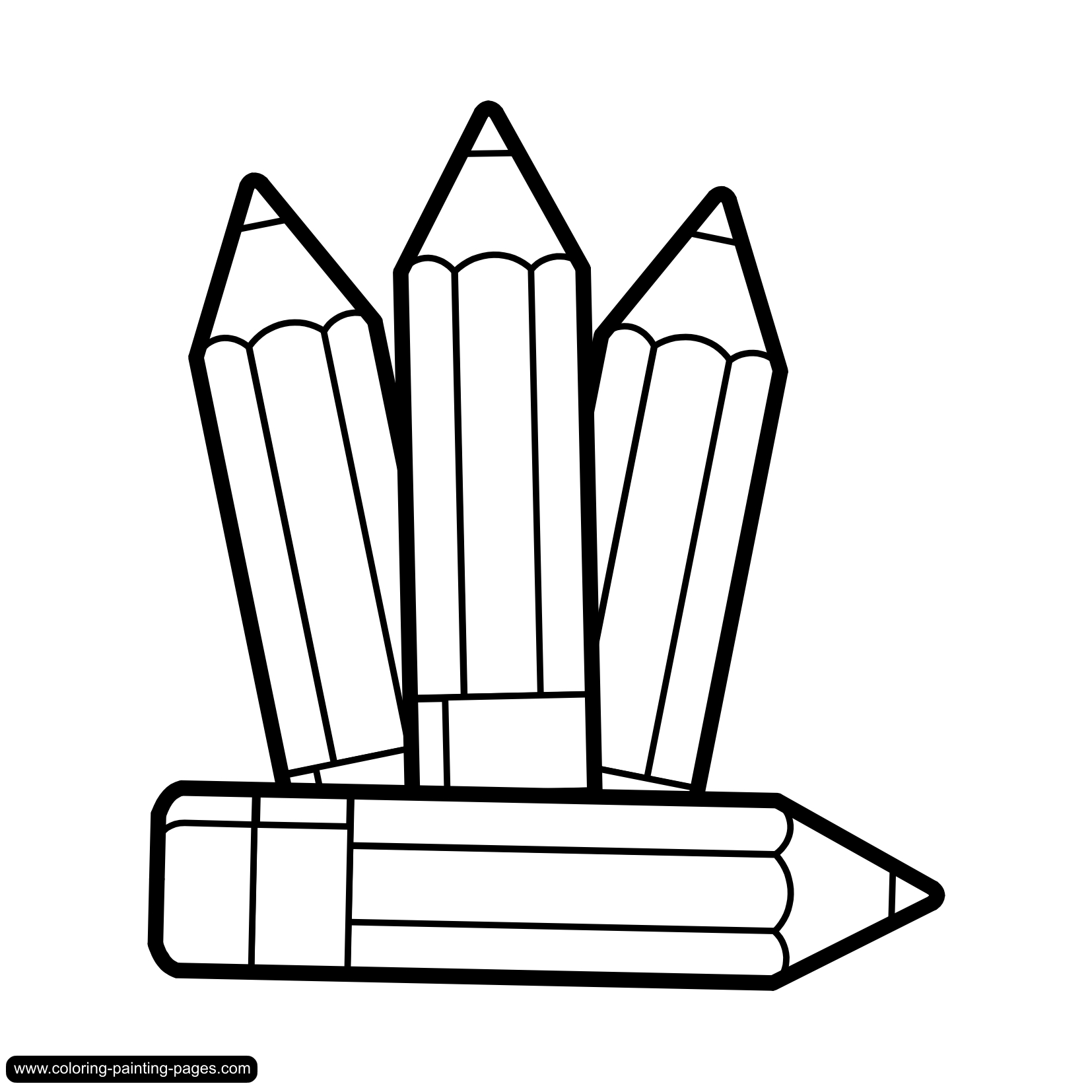 1654x1654 Marker Clipart Black And White