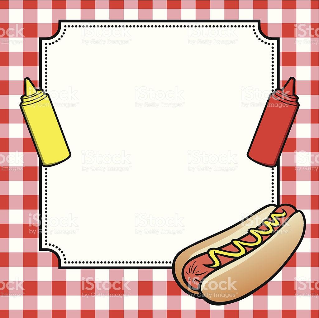 1024x1020 Hot Dog Clipart Border