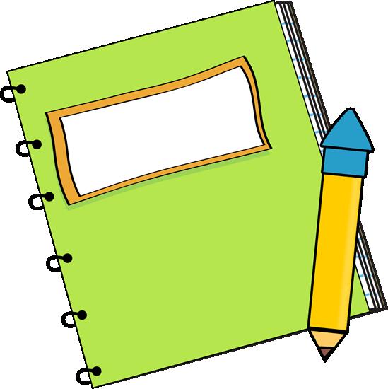 549x550 Notebook Border Clip Art