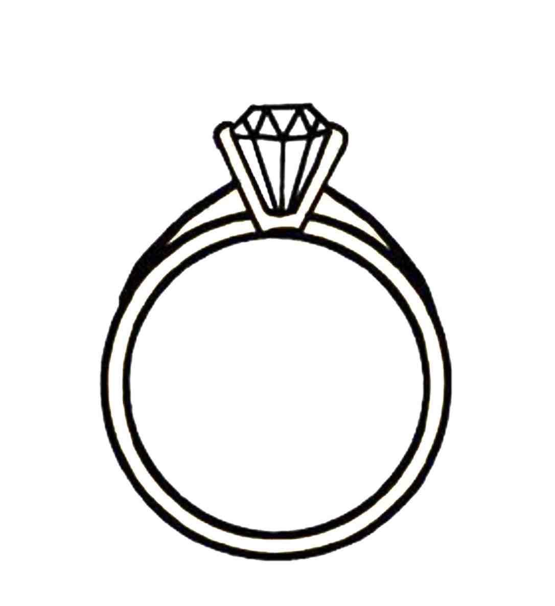 1086x1185 Wedding Ring Border Clipart